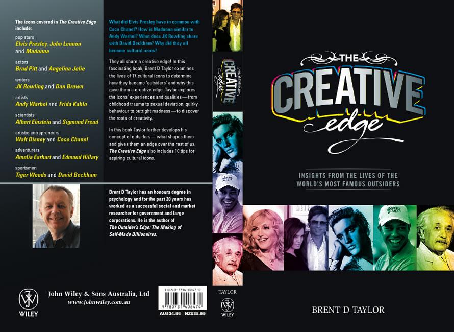 Brent D Taylor The Creative Edge Cover Art border=