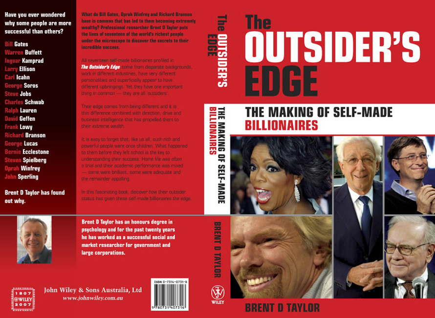 Brent D Taylor The Outsider S Edge Cover Artwork border=